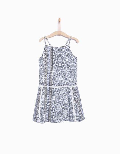 Girls' printed dress - IKKS Junior
