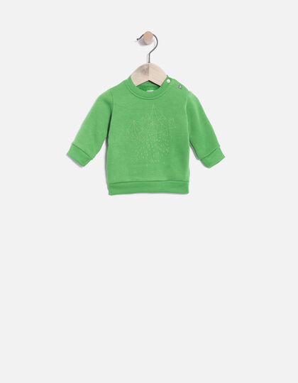 Babies' cotton sweatshirt - IKKS Junior