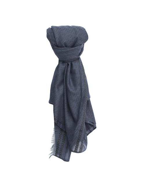 Men's blue keffiyeh