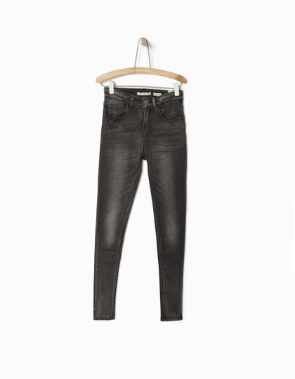 High-waisted skinny jeans - IKKS Junior
