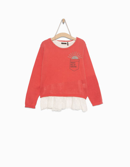 Pull 2 en 1 fille - IKKS Junior