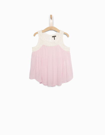 Top fille rose - IKKS Junior
