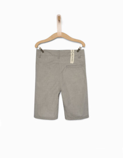Boys' grey Bermuda shorts - IKKS Junior