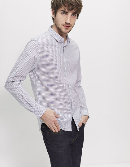 Men's white shirt - IKKS Men
