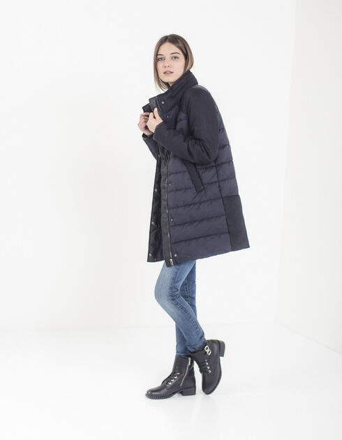 manteau femme ikks jusqu 60 soldes deuxi me d marque. Black Bedroom Furniture Sets. Home Design Ideas