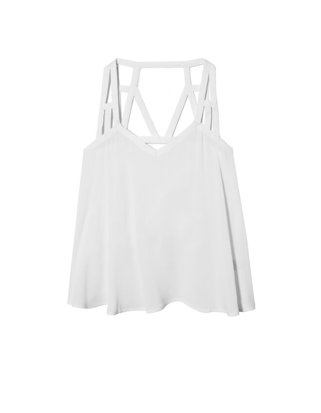 Women's strappy top