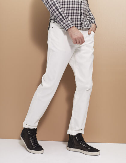 Men's ecru trousers - IKKS Men