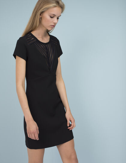 Sporty black dress  - IKKS Women