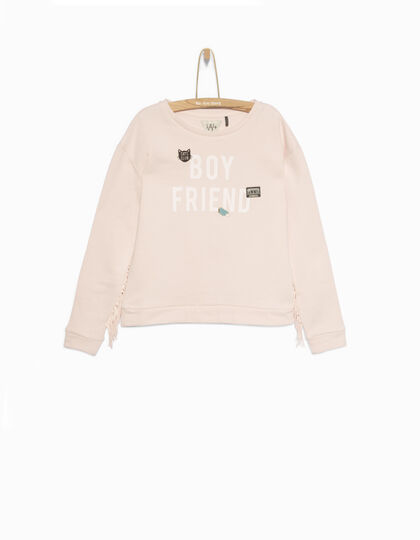 Sweat fille rose - IKKS Junior