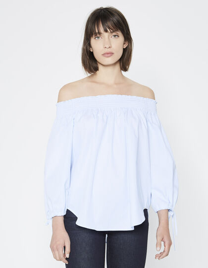 Blouse, bare shoulders - IKKS Women