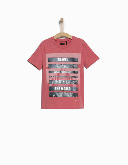 Rood jongens T-shirt - IKKS Junior