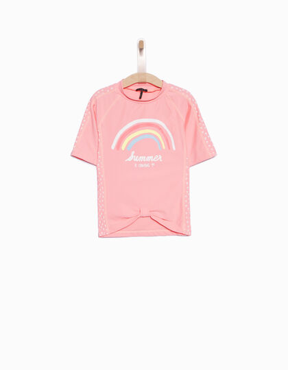 Girls' UV protection T-shirt - IKKS Junior