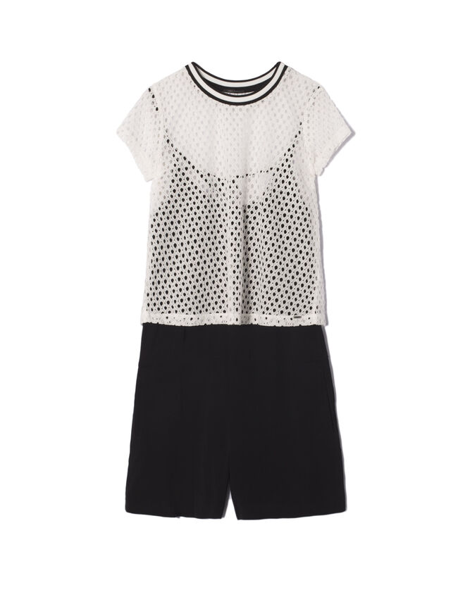 2-in-1 playsuit