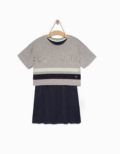 Girls' sweater dress - IKKS Junior