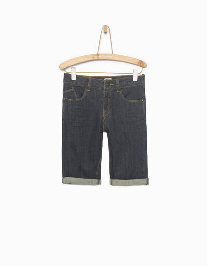 Boys' denim Bermuda shorts - IKKS Junior