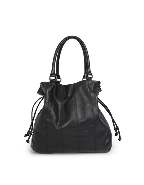 The Bulk Black tote