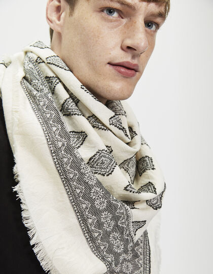 Men's square scarf - IKKS Men