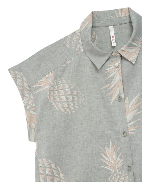 Women's grey shirt