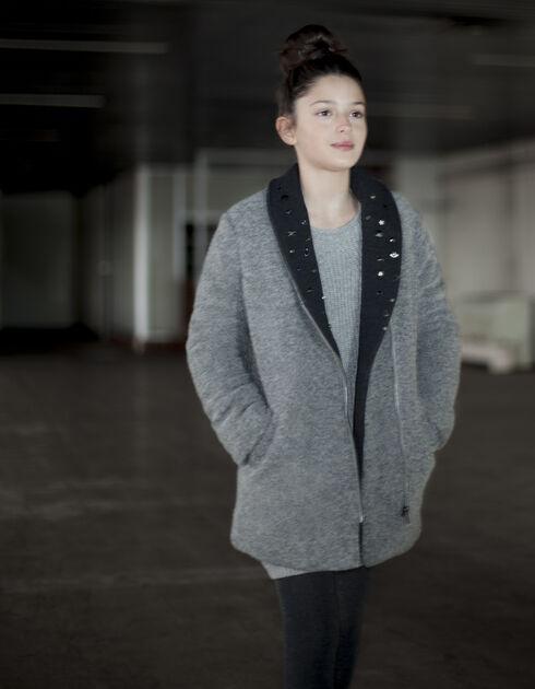soldes manteau laine enfant jusqu 70 pureshopping. Black Bedroom Furniture Sets. Home Design Ideas