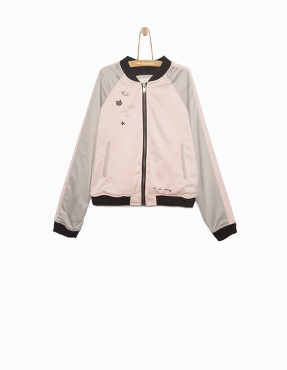 Girls' bomber jacket - IKKS Junior