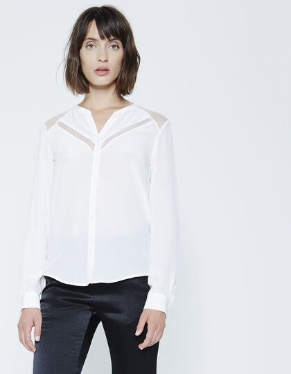Women's silk blouse - IKKS Women