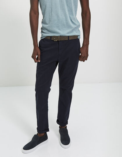 Men's blue chinos - IKKS Men