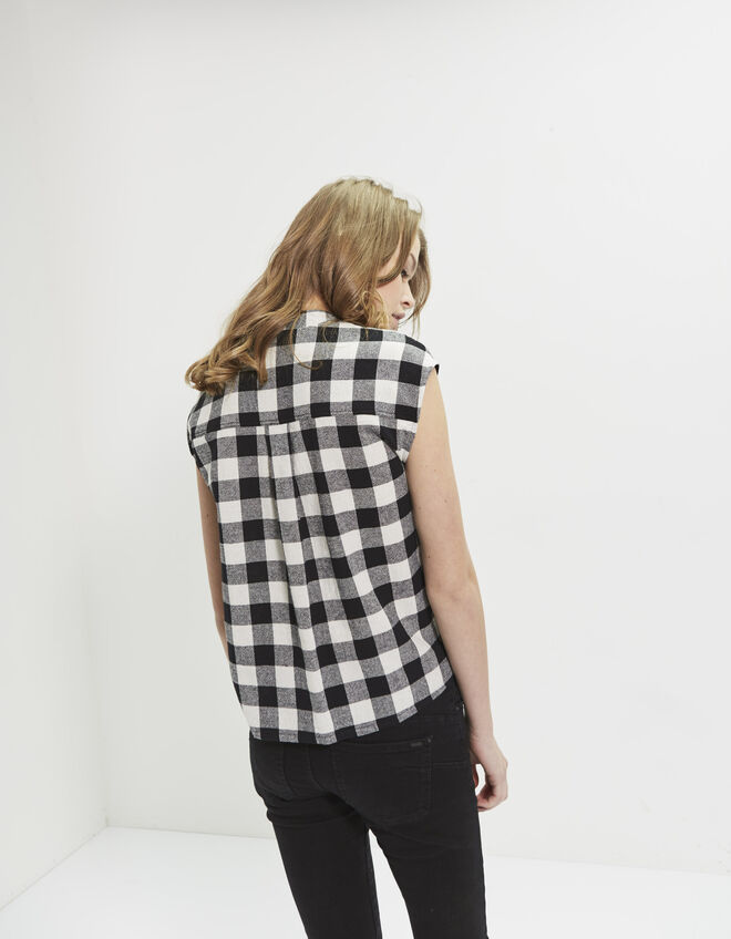 Women's check shirt