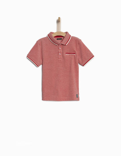 Boys' red polo shirt - IKKS Junior