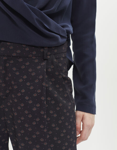 Women's printed trousers