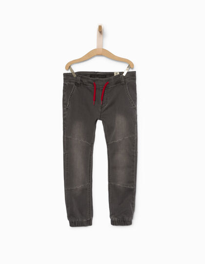 Boys' grey jeans - IKKS Junior