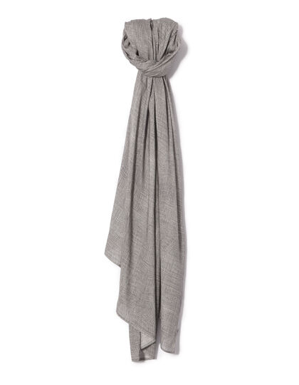 Men's striped scarf - IKKS Men