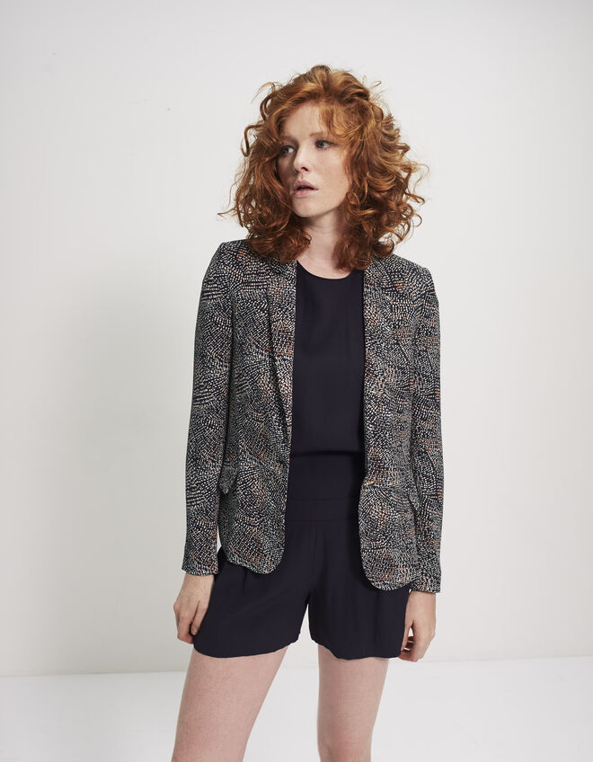 Women's printed jacket