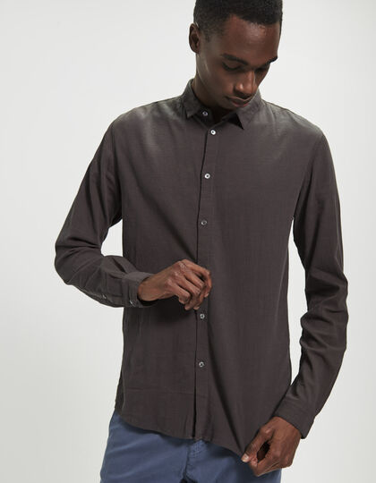 Men's grey shirt - IKKS Men