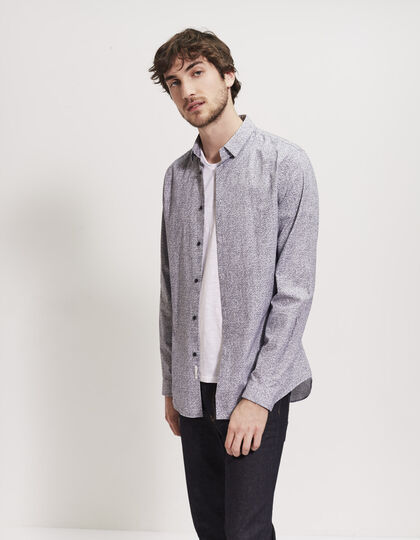 Men's printed shirt - IKKS Men