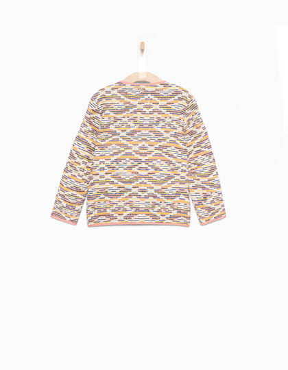 Manteau jacquard fille - IKKS Junior
