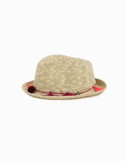 Chapeau paille fille - IKKS Junior