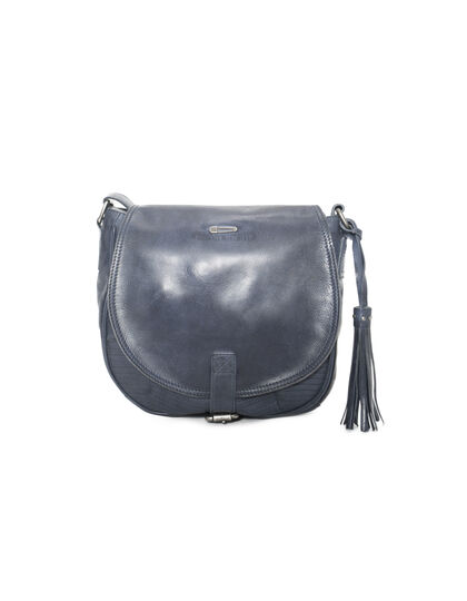 Leather shoulder bag  - IKKS Women