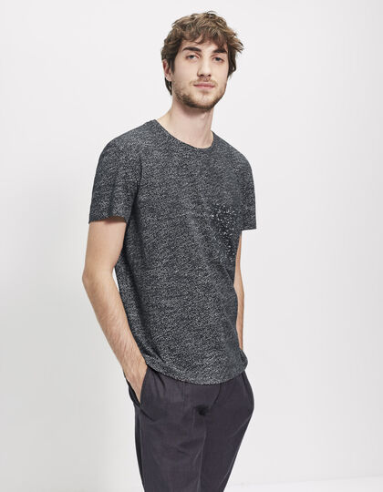 Men's grey T-shirt - IKKS Men