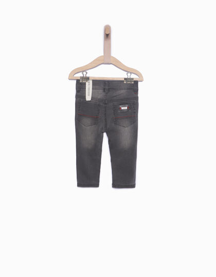 Baby boys' grey jeans - IKKS Junior