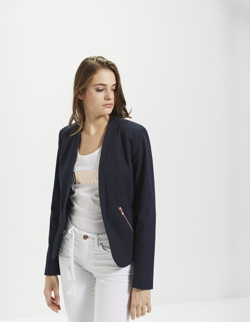 Women's blue jacket
