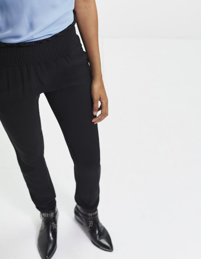 Women's crêpe trousers