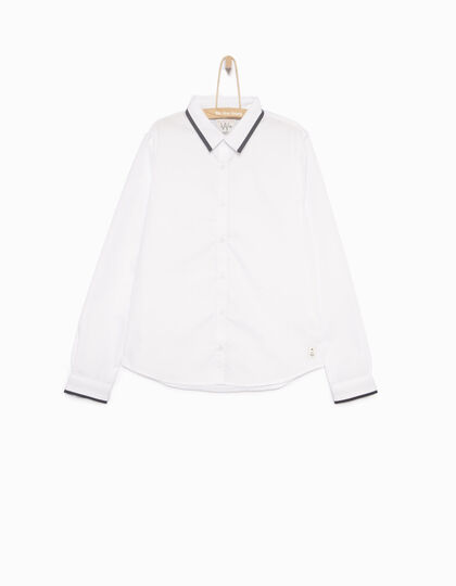 Boys' white shirt - IKKS Junior