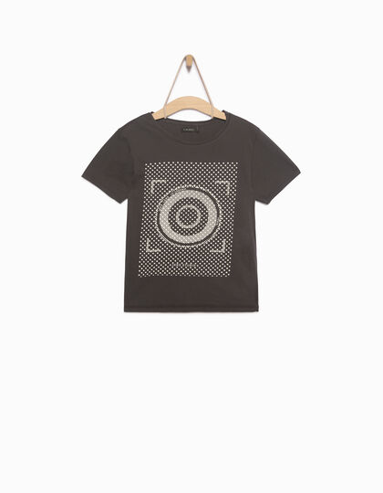 Boy's grey T-shirt - IKKS Junior