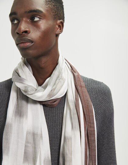Men's modal scarf - IKKS Men