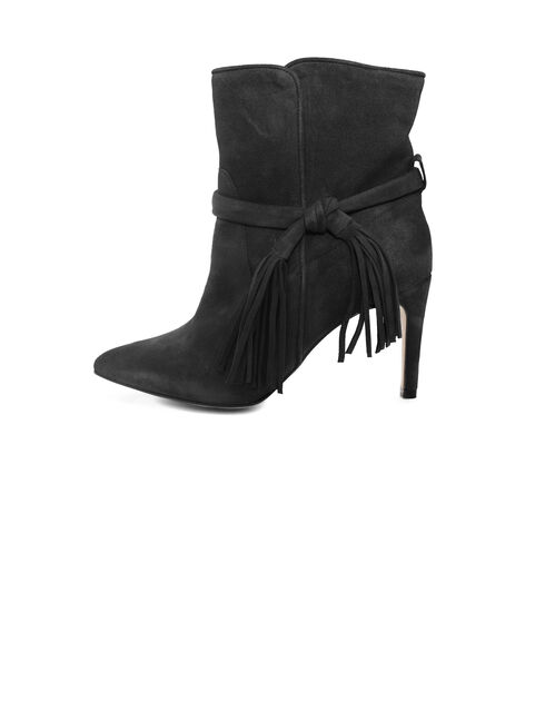 Zwarte bottines dames