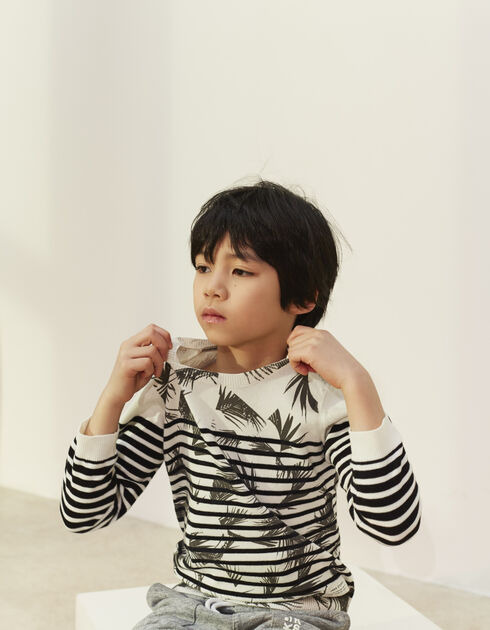 Boys' sailor sweater