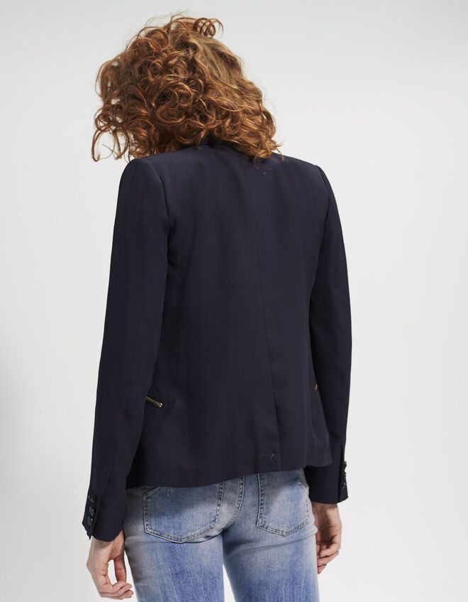 Women's two-tone jacket