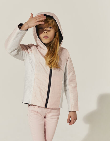 Girls' reversible padded jacket - IKKS Junior