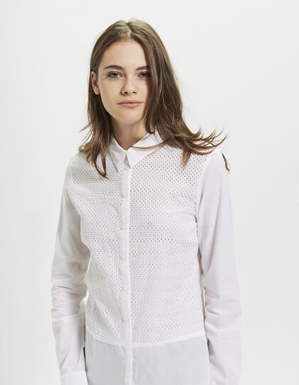 Chemise blanche femme - I.Code