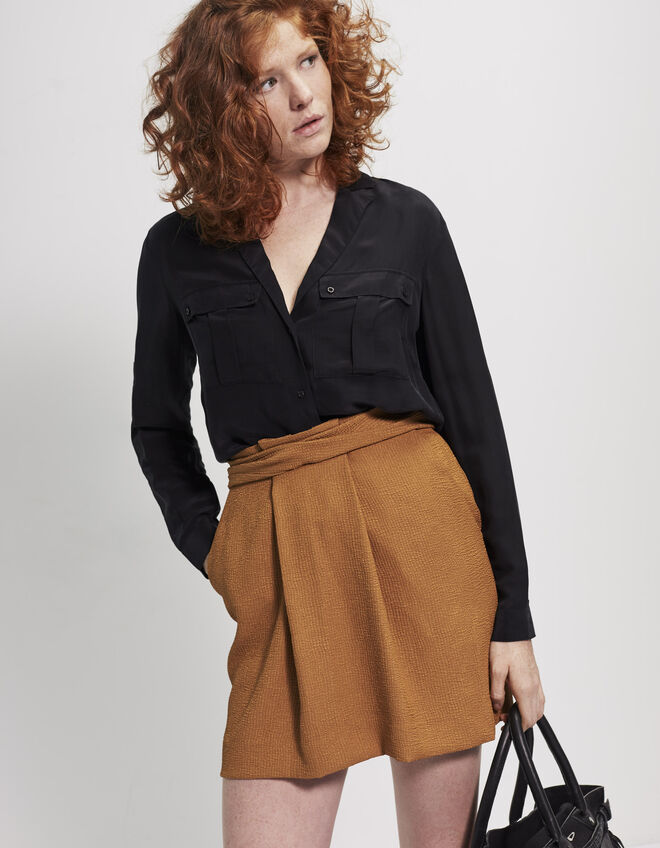 Women's pleated skirt